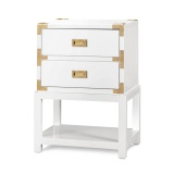 TANSU 2-DRAWER SIDE TABLE