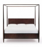 Rosenau Queen Panel Bed with Posts