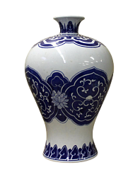 Ваза - Chinese Blue & White Porcelain VaseBOK-700-300