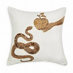 MUSE SNAKE & APPLE PILLOW