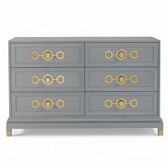 JA CRAFTED BY FISHER-PRICE DELUXE DOUBLE DRESSER