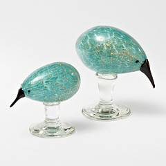 Glass Kiwi Bird Small